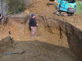 High class koi home to top quality koi carp for Digging a koi pond